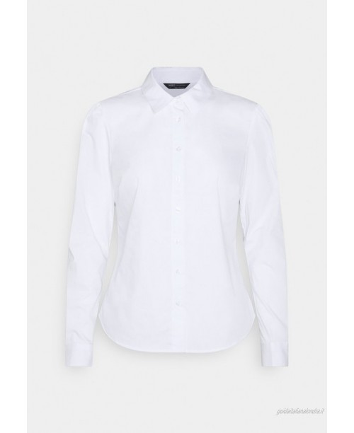 Marks & Spencer London PUFF FITTED  Camicia white/bianco