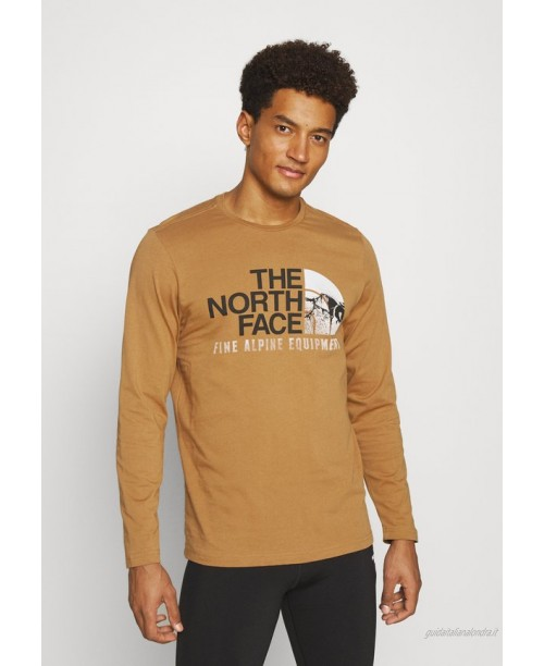 The North Face IMAGE IDEALS TEE UTILITY BROW Maglietta a manica lunga utility brown/marrone