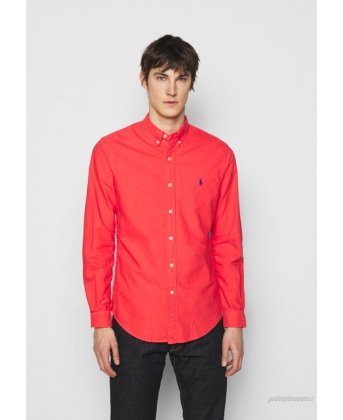 Polo Ralph Lauren LONG SLEEVE SPORT Camicia racing red/rosso