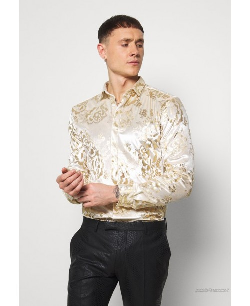Twisted Tailor GAINES SHIRT Camicia champagne/avorio