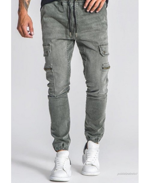 Gianni Kavanagh Jeans baggy army green/verde