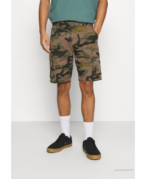Only & Sons ONSCAM STAGE CAMO Shorts olive night/verde scuro